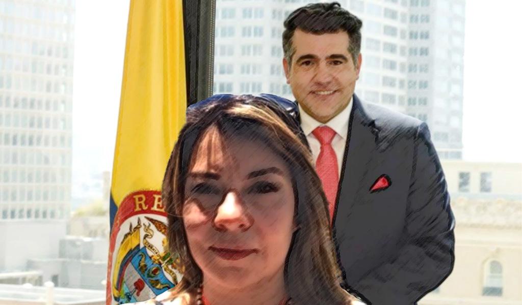 De Calero a Erika Salamanca, ¿diplomacia sin méritos?