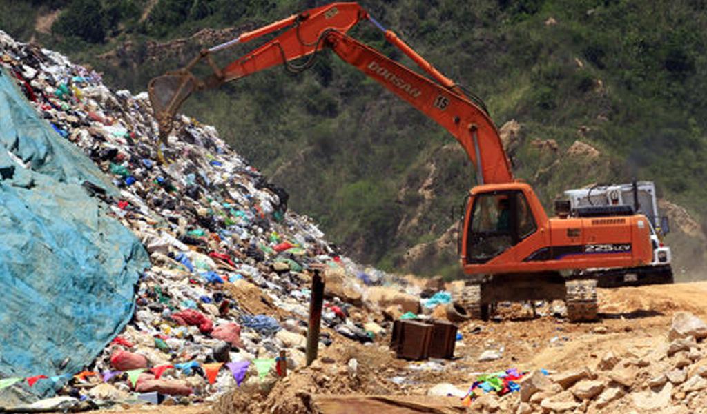 Se derrumba relleno sanitario en Bucaramanga
