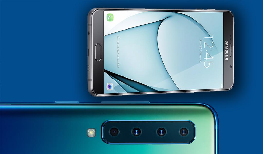 ¿Para qué sirven las 4 cámaras del Samsung A9?