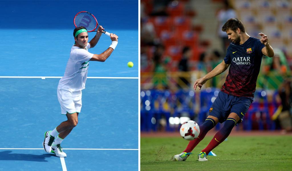 ¿Por qué Gerard Piqué arremetió contra Roger Federer?