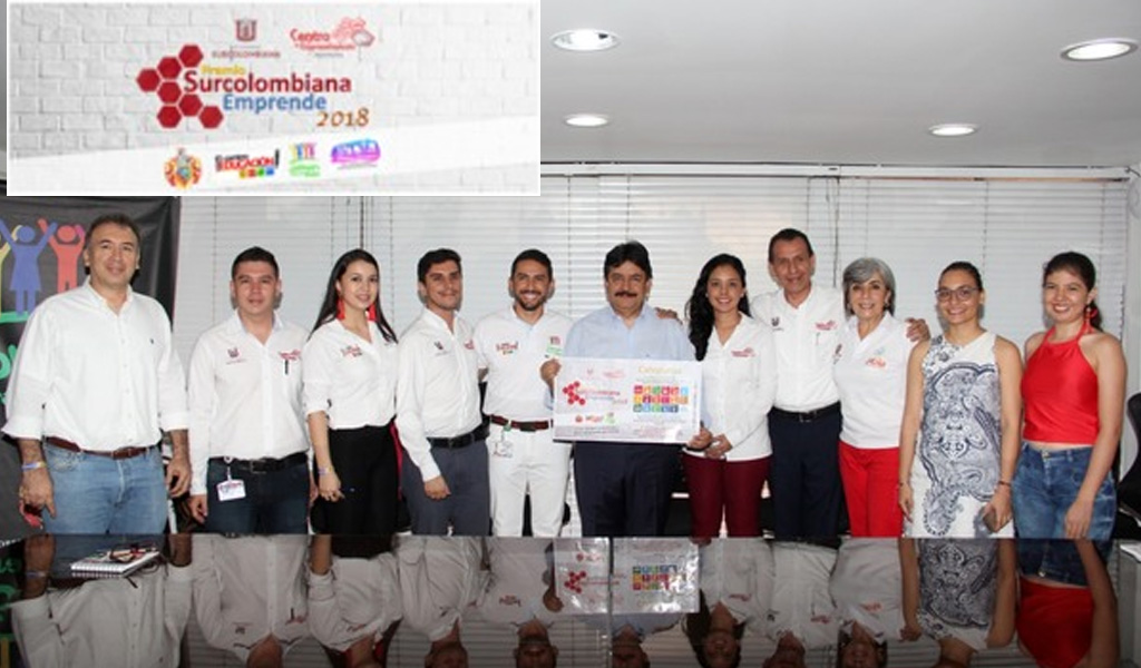 Segunda edición del 'Premio Surcolombiana Emprende'