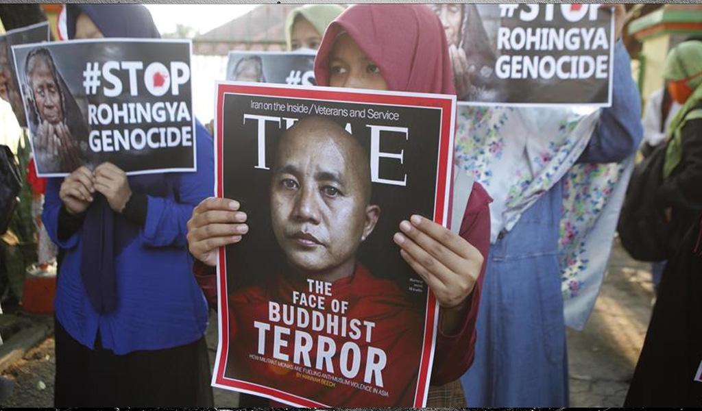 El budista que difunde discursos de odio contra los musulmanes