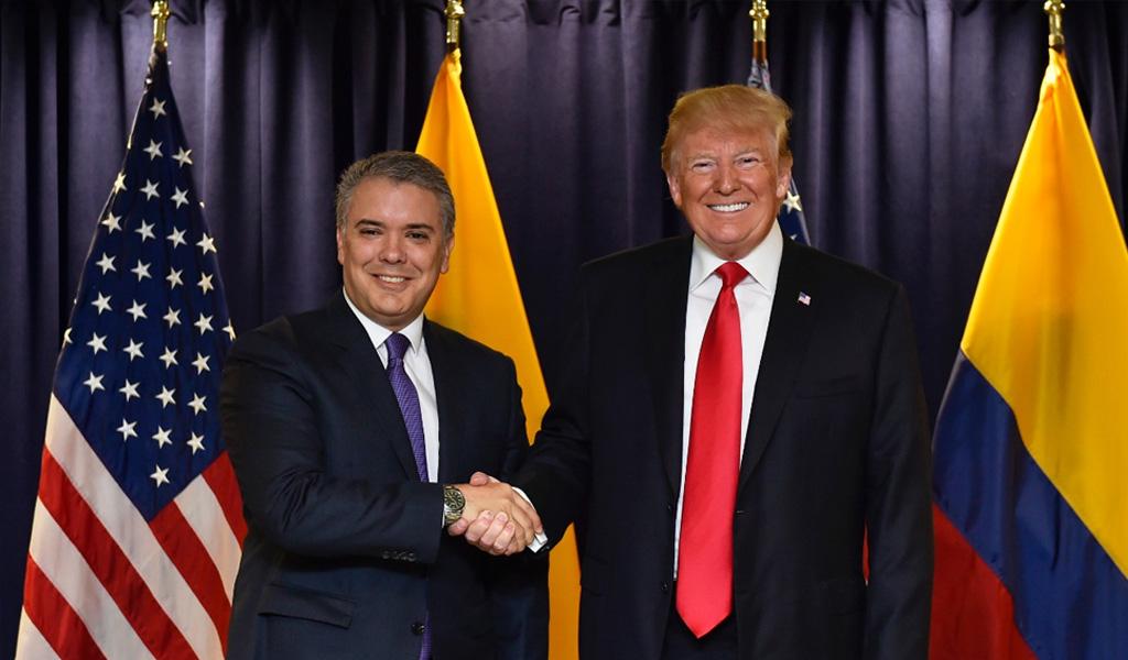 Se confirma fecha de visita de Trump a Colombia