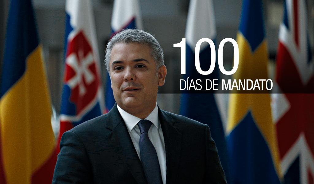 Los 100 días de Iván Duque, producto de lo que recibió