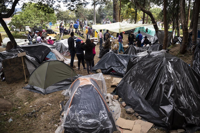 En Bogotá piden evitar xenofobia hacia venezolanos