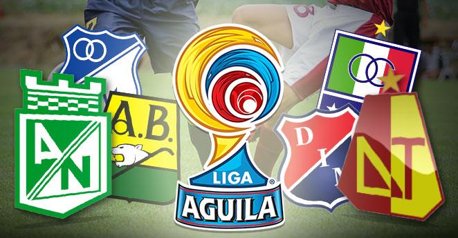 Liga Águila fútbol colombiano
