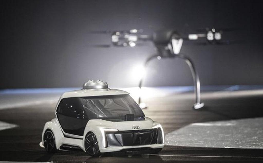 Audi presenta modelo de su primer auto volador