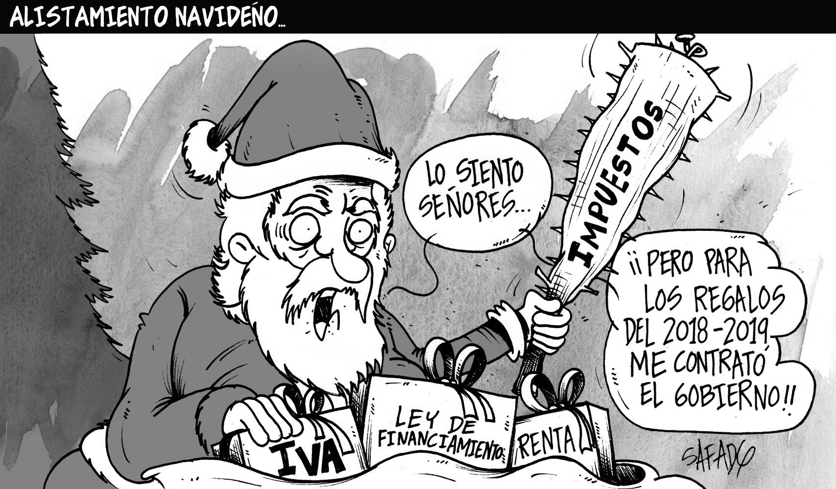 Alistamiento navideño…