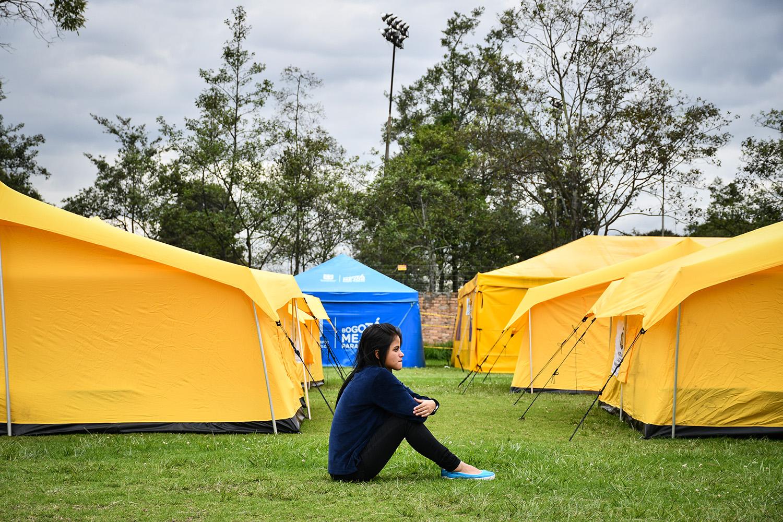 El 15 de enero se levantará campamento venezolano