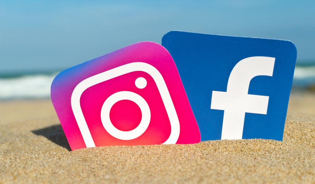 Caída mundial de Facebook e Instagram