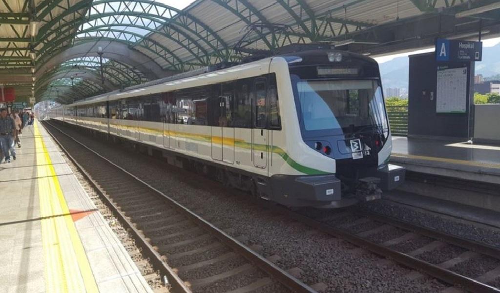 Por incidente en la vía, Metro de Medellín operó con restricción