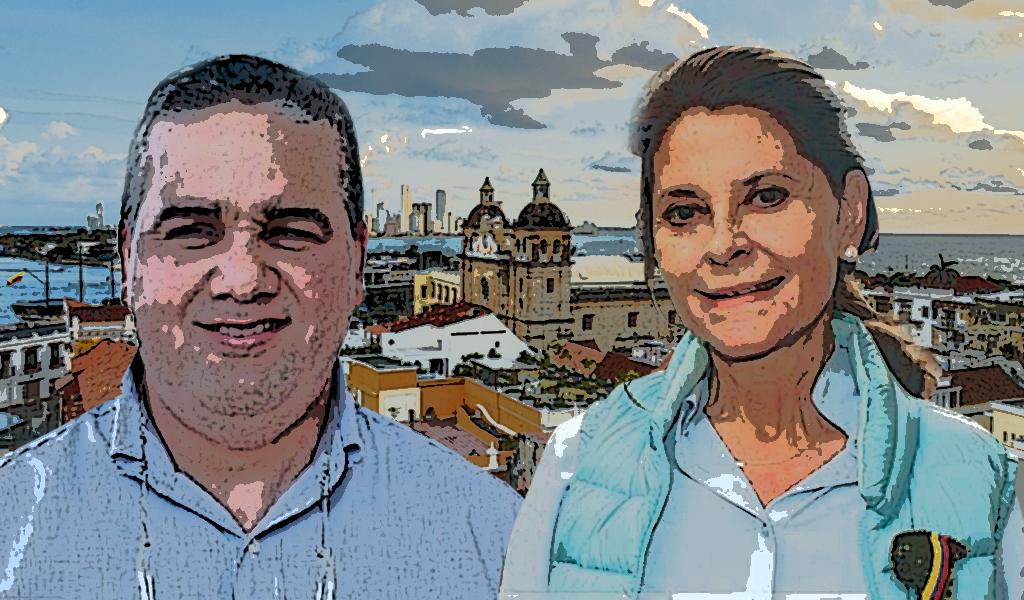 Vicepresidenta y alcalde un 'hit' para Cartagena