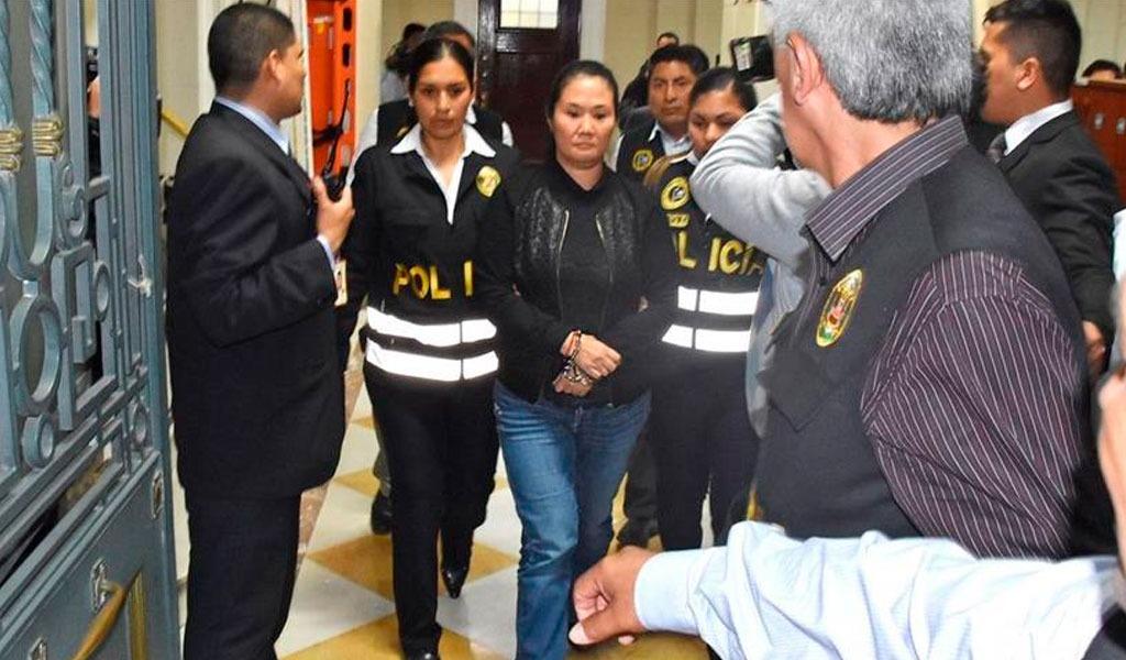 Keiko Fujimori fue recluida en el penal Mujeres en Lima
