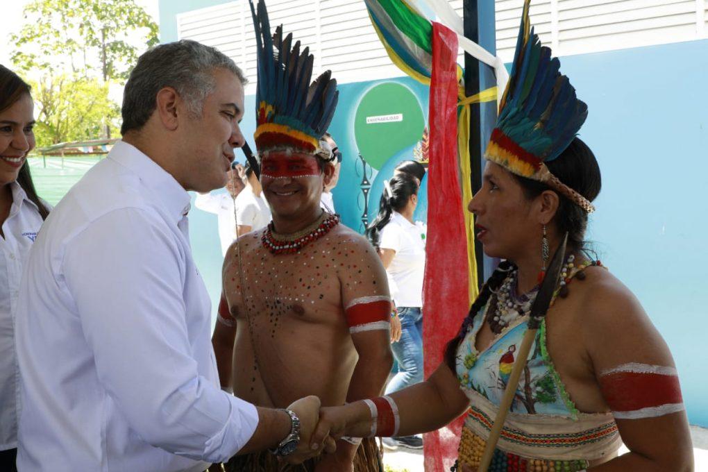 Pactos por emprendimiento deja Duque en Amazonas