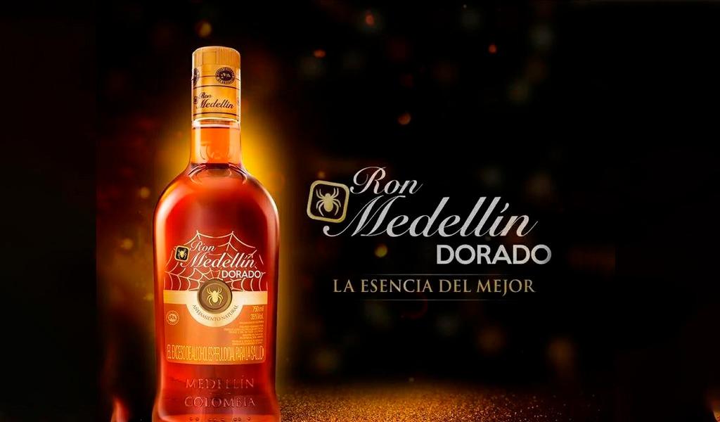 La FLA presenta el nuevo Ron Medellín Dorado