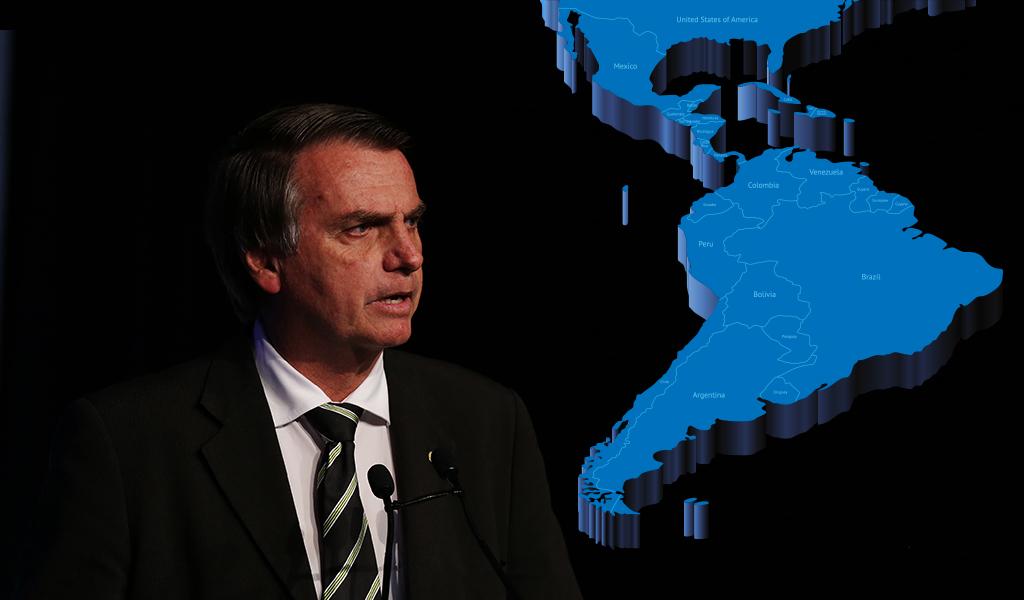 """Bolsonaro no quiere """"hermanos argentinos"""" en Brasil"""