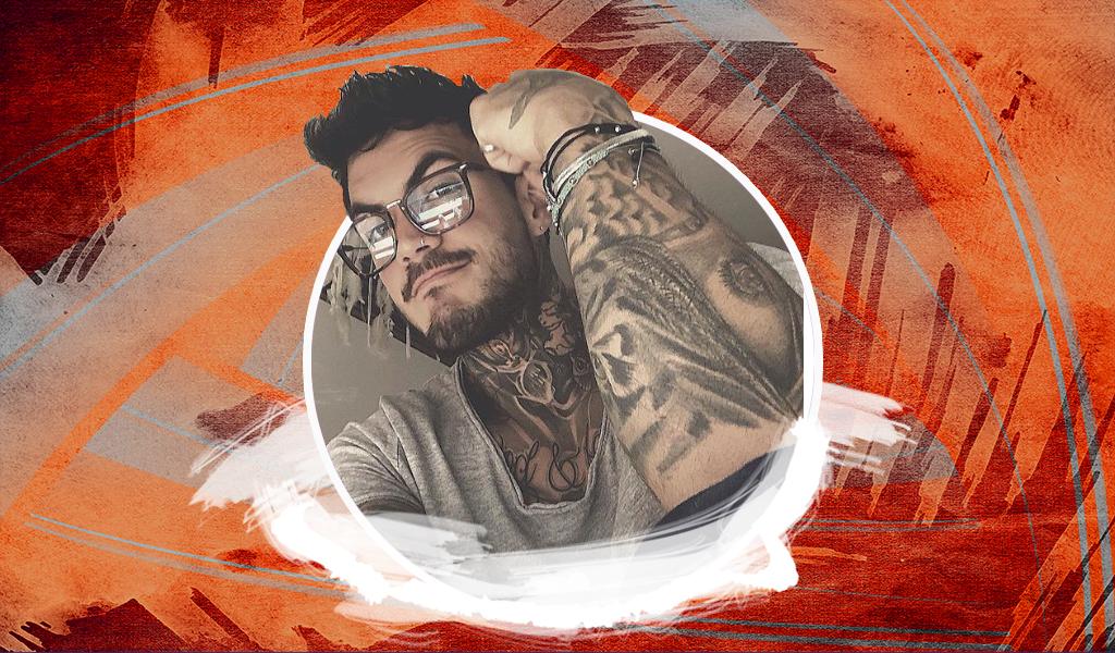 A Mateo Carvajal le criticaron su último tatuaje
