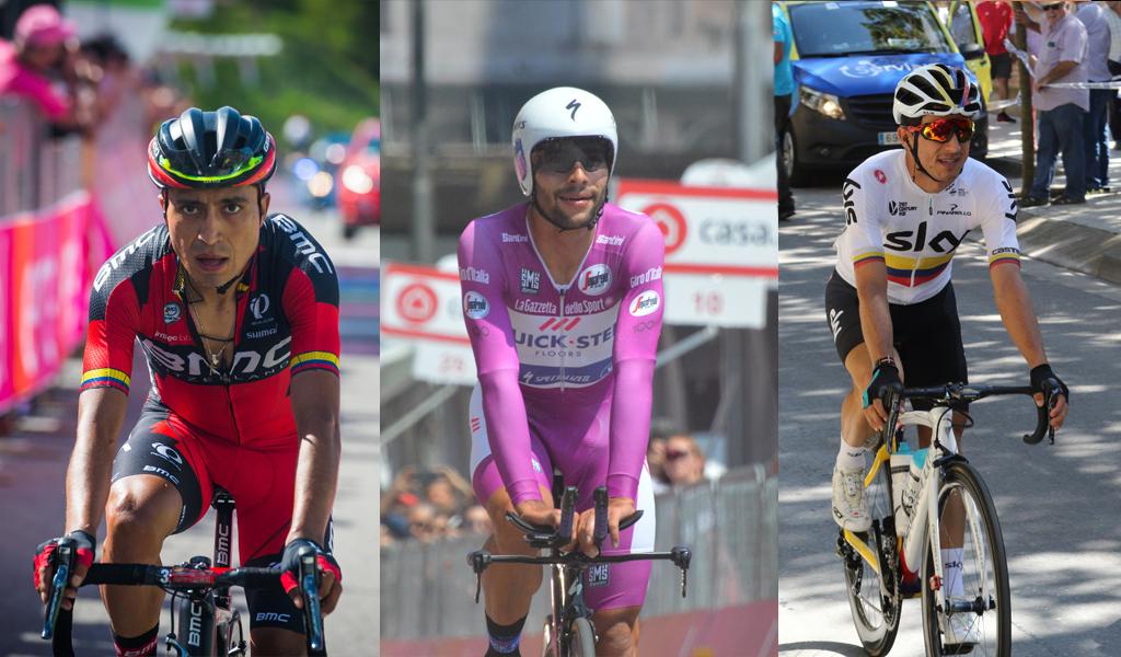 Cinco fichajes del ciclismo colombiano para el 2019