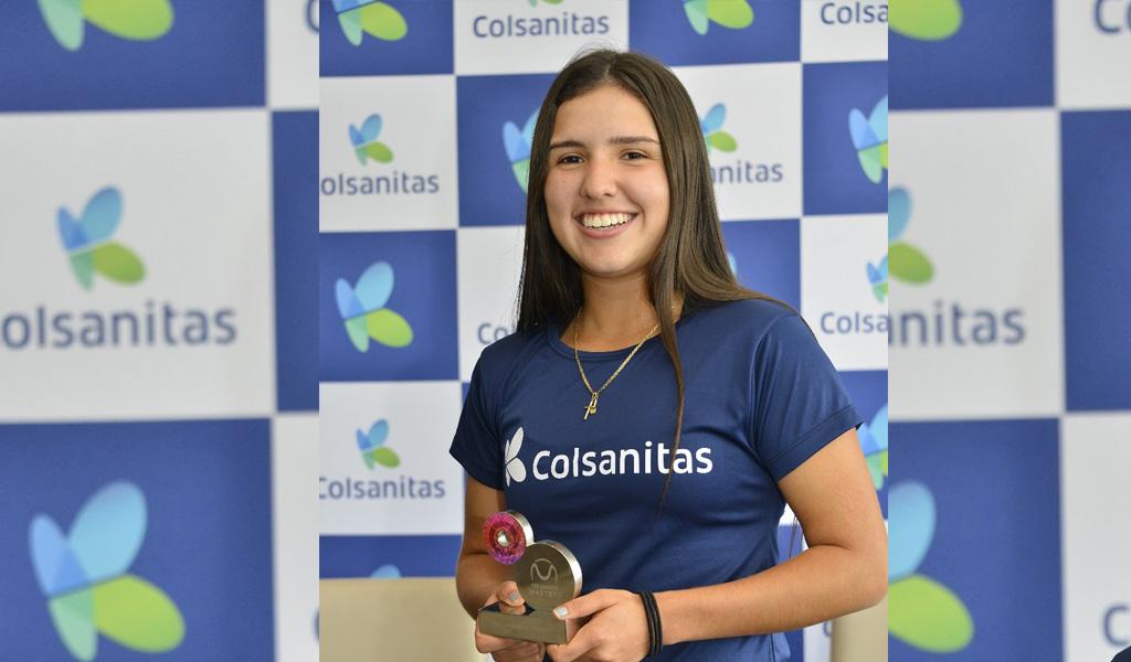 Maria Camila Osorio quiere ser la número uno del mundo