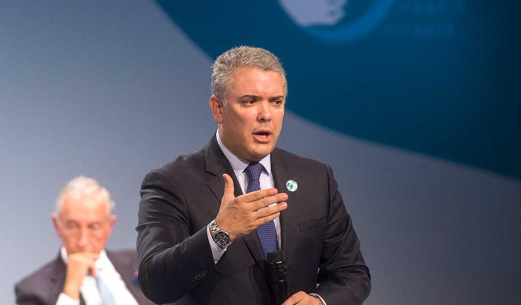 Iván Duque pide fortalecer la CPI