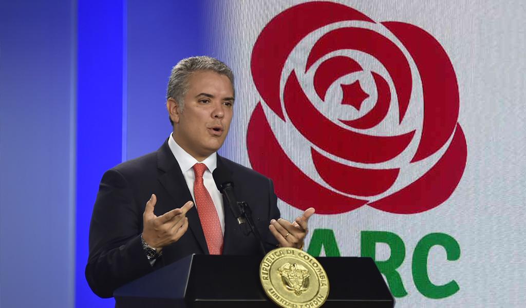 Exjefes de Farc son protegidos por Venezuela: Duque