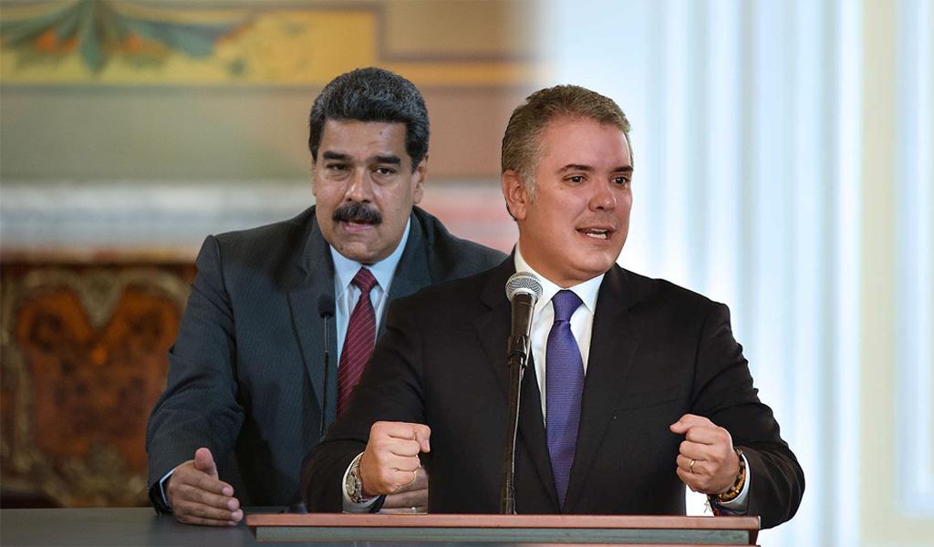 Maduro pide a Duque dialogar con Eln