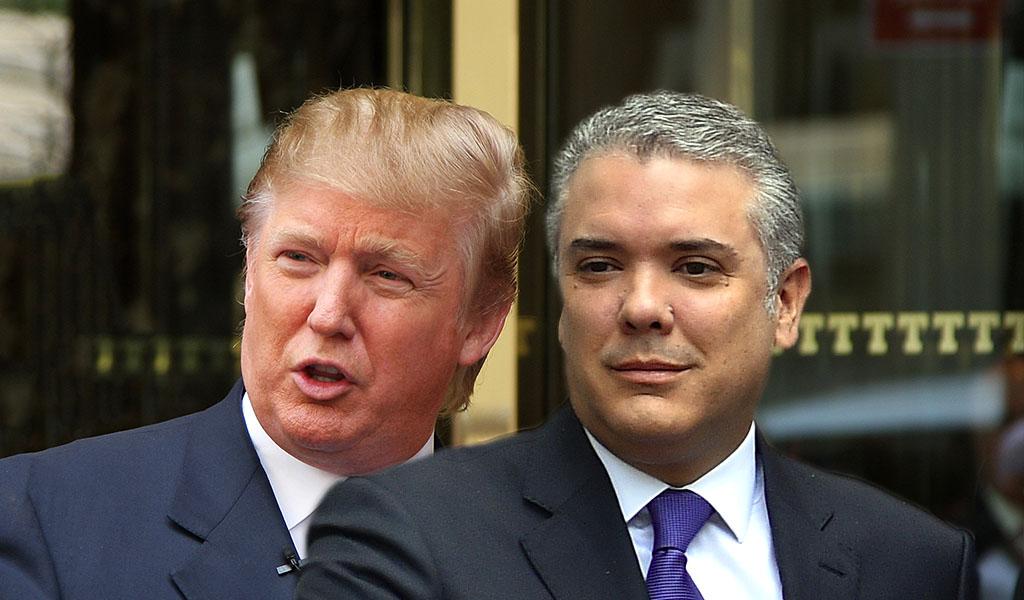 Trump canceló su visita a Colombia