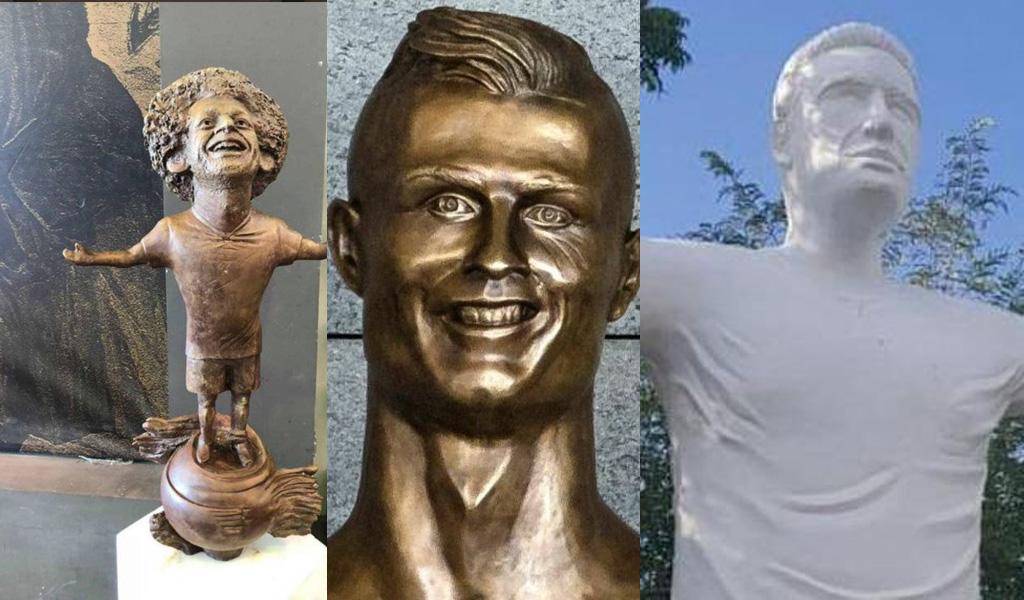 Cinco estatuas que no se parecen a quien homenajean