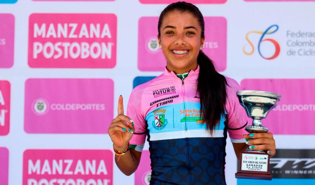 Erika Botero, campeona de la Vuelta del Futuro 2018