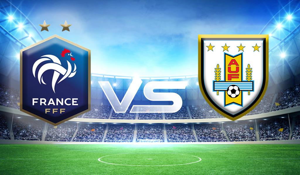 Revancha mundial entre Francia vs Uruguay