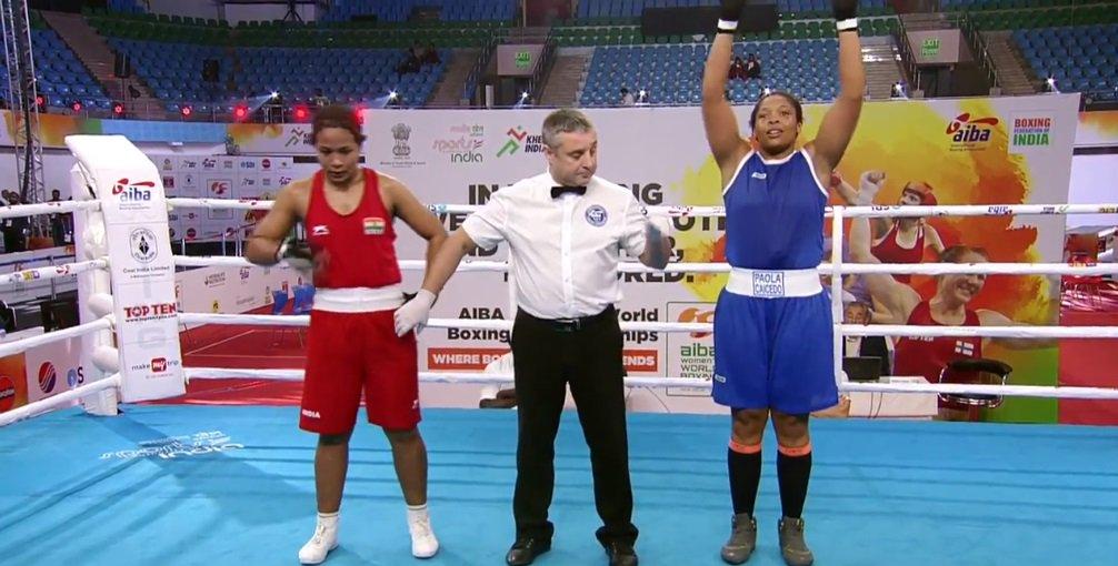 Jessica Caicedo en la historia del Mundial de Boxeo