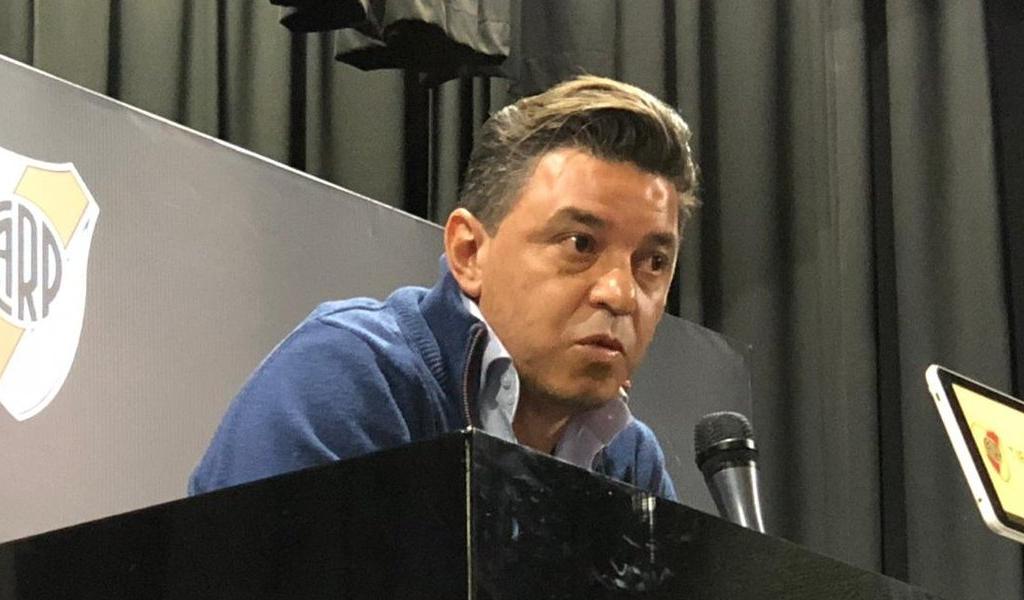 ¿Cuál fue la sanción a Marcelo Gallardo?