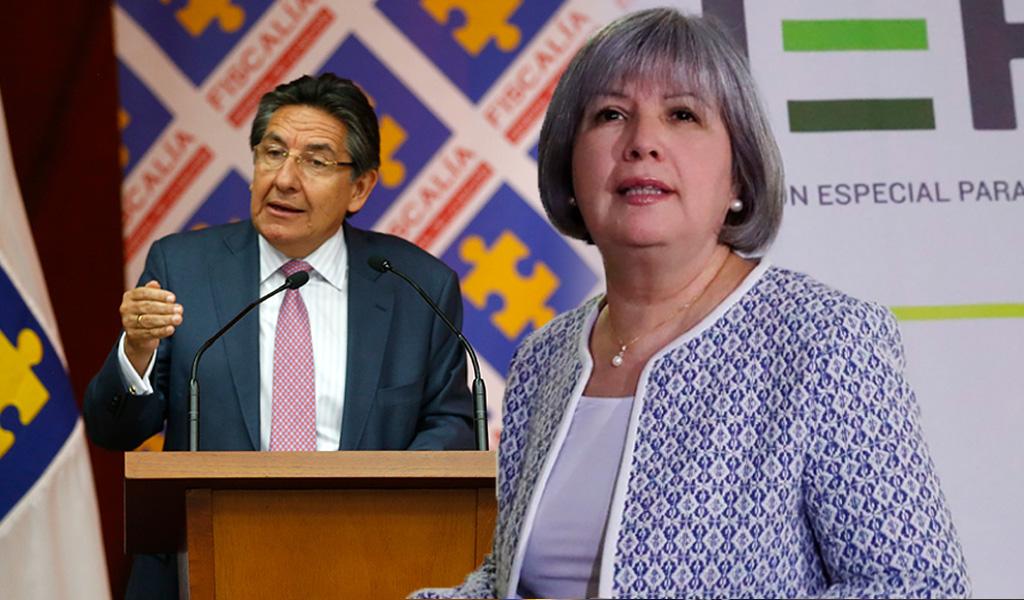 """""""No hay conflicto de competencias con la Fiscalía"""": JEP"""