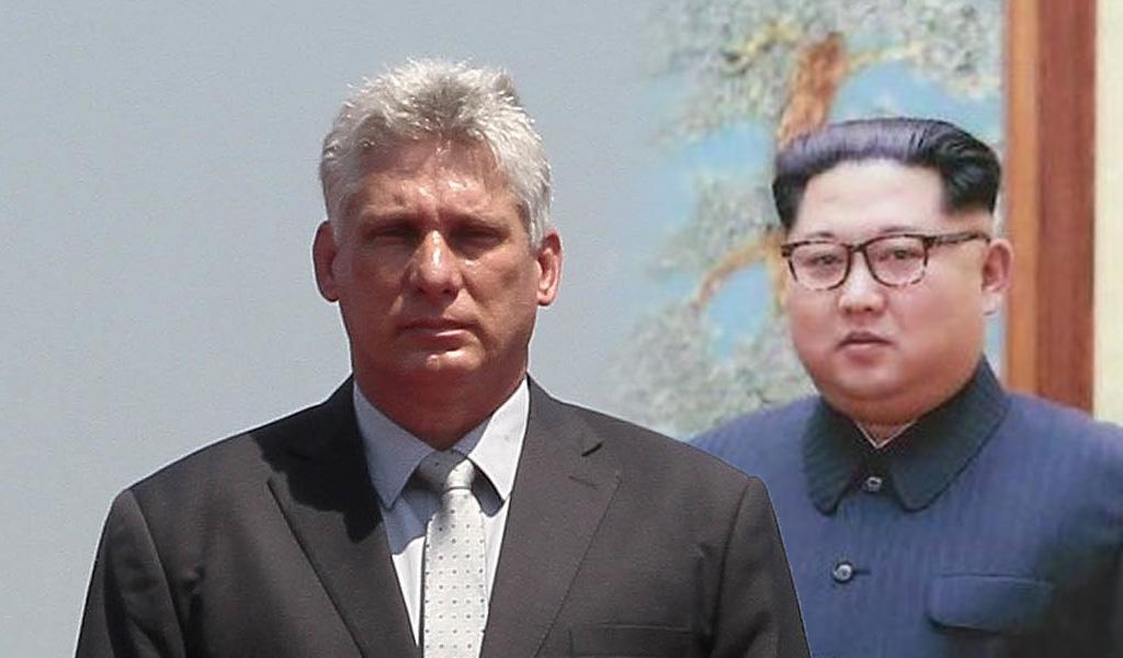 El presidente de Cuba se reúne con Kim Jong-un