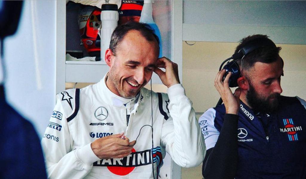 ¿Por qué Robert Kubica regresó a la Fórmula 1?