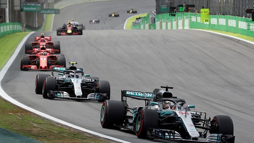Lewis Hamilton ganó el Gran Premio de Brasil en la Fórmula 1