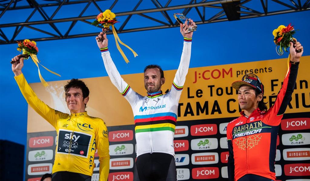 Alejandro Valverde se corona campeón en Japón