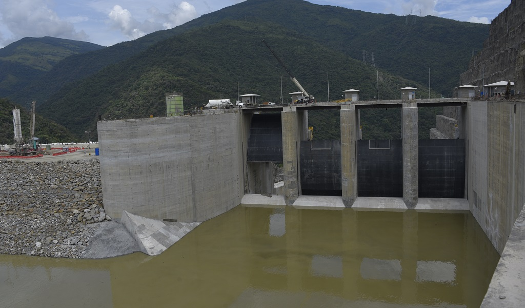 Vertedero de Hidroituango funcionaría la próxima semana