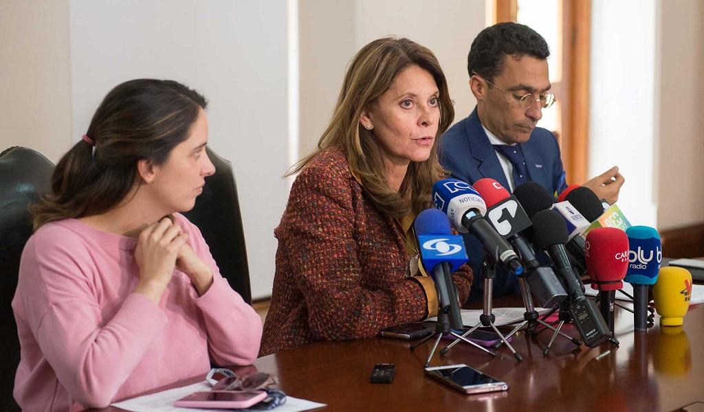 Marta Lucía pide a la JEP agilizar extradición de Santrich