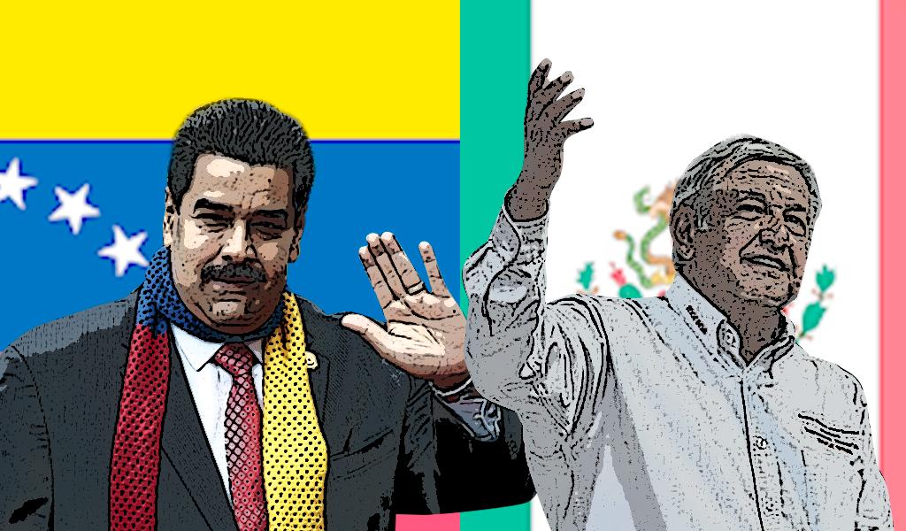 Maduro, presencia non grata en el acto de AMLO