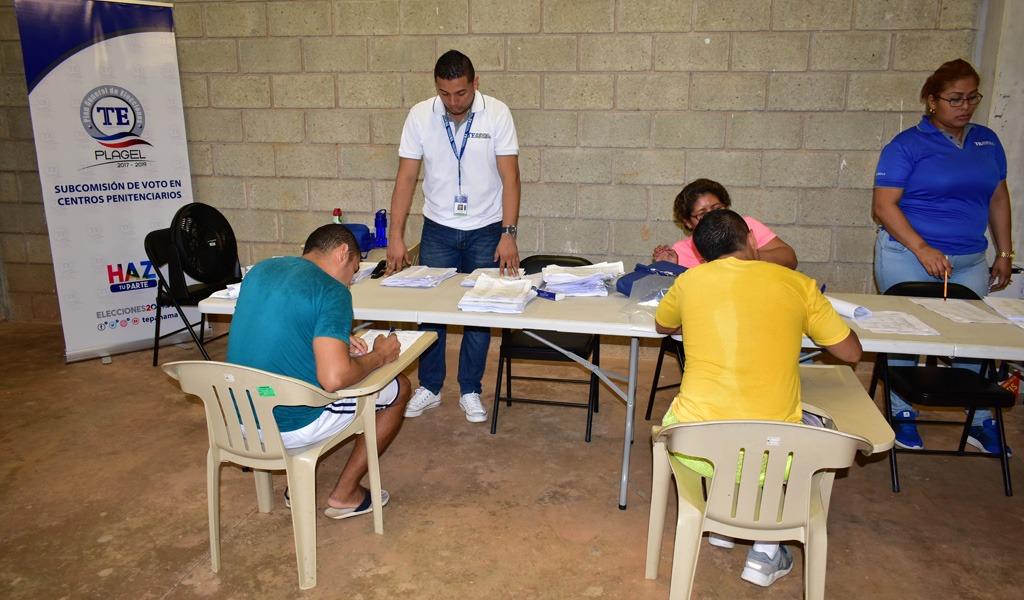 Proceso electoral en Panamá con población especial