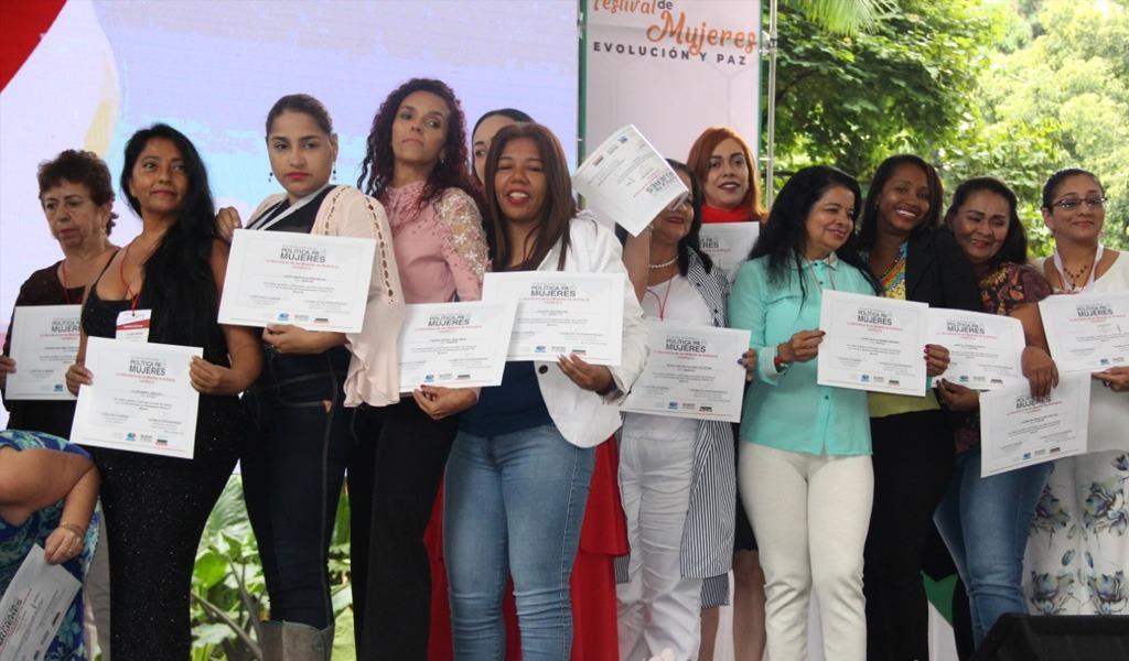 Antioquia certificó su Escuela Política pa' Mujeres