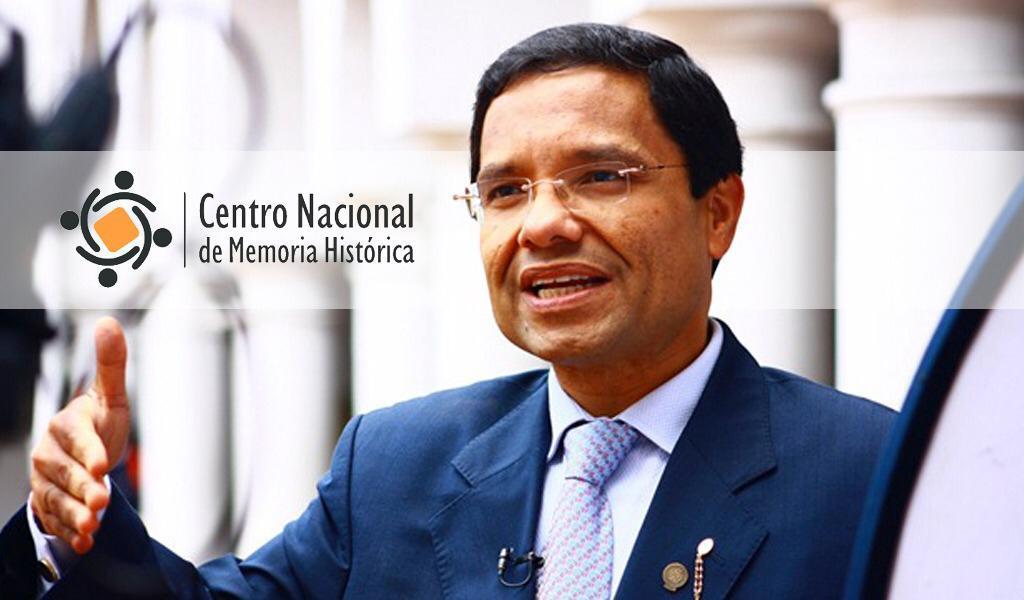 ¡Oficial! Vicente Torrijos director del CNMH