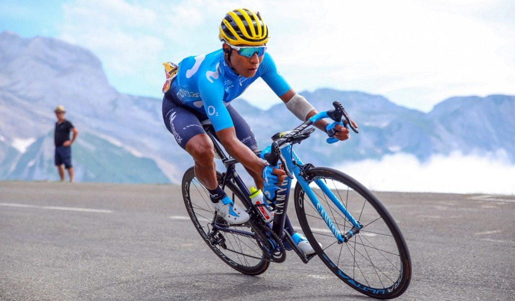 El reto de Nairo Quintana en redes sociales