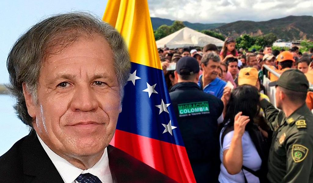 Secretario de la OEA pide resistencia a los venezolanos