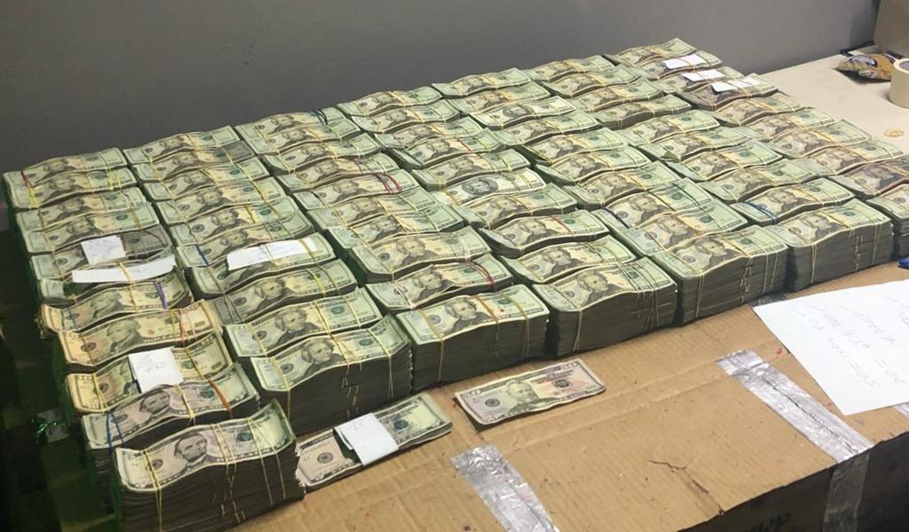 Capturan extranjeros con más de 1 millón de dólares en Panamá