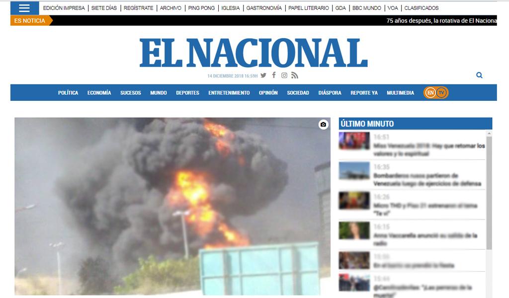 Otro periódico que sale de circulación en Venezuela