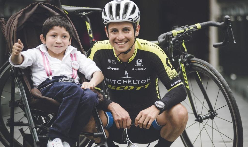 Esteban Chaves correrá para multiplicar sonrisas