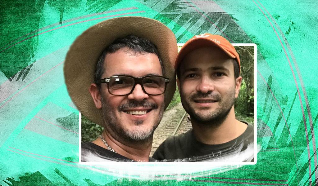 Guillermo Vives y su esposo son padres de mellizos