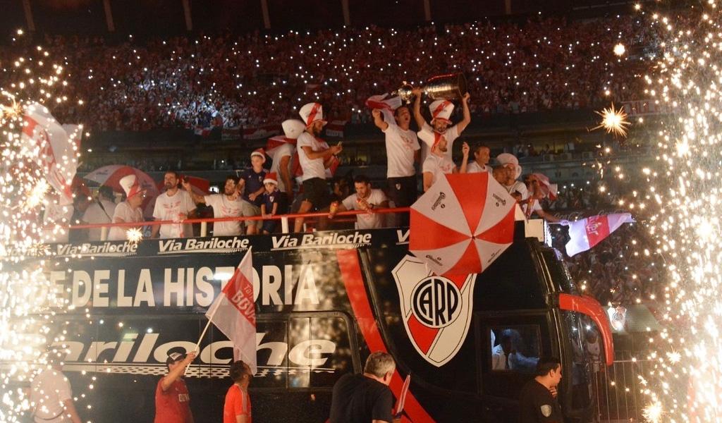River Plate brinda la Libertadores a Buenos Aires